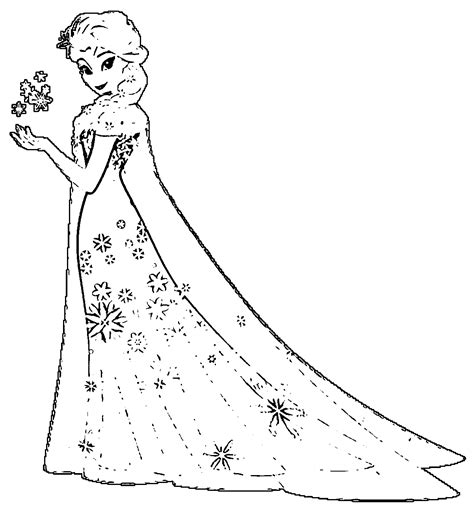 frozen fever coloring pages to print elsa coloring pages coloring home