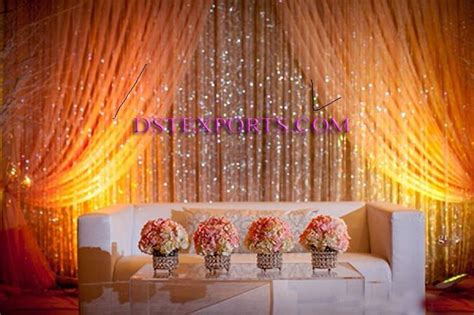 crystal curtains india crystal backdrops for weddings wedding stage crystal