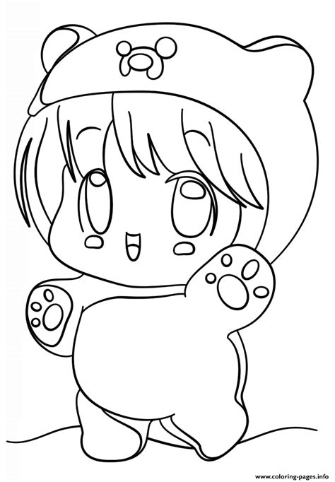 kawaii girl coloring pages kawaii chibi girl coloring pages printable