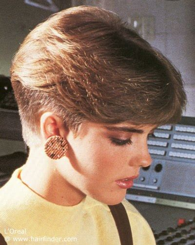 1980 wedge hairstyle pics of 1980s wedge hairstyles for women short hairstyle