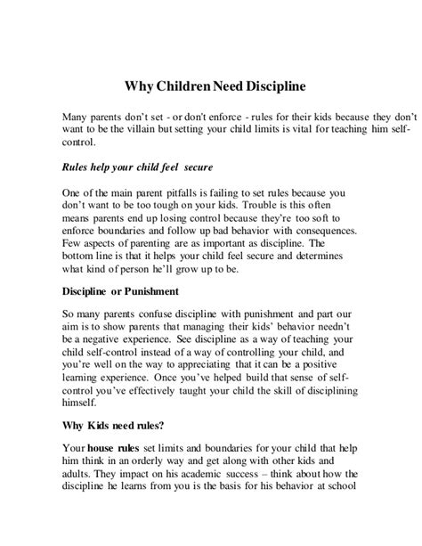 Child Discipline Essay by Child Discipline Essay Essay For Children On Discipline Essay Help Essays On Why Do You Want To
