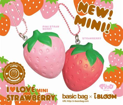 Soft And Slowrise Squishy Jumbo Strawberry Yummiibear mini ibloom scented strawberry squishy