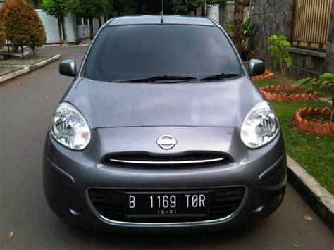Jual Tv Mobil Nissan March nissan march 1 2cc manual th 2011 mobilbekas