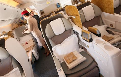 emirates upgrade to business class peaceful night in emirates business class the luxe insider