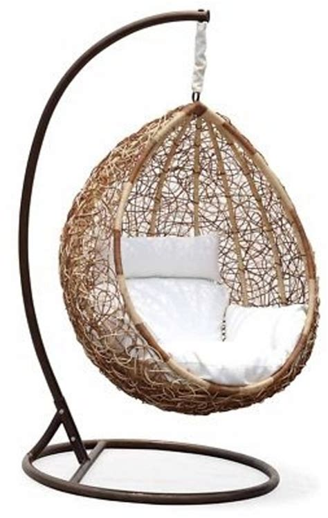 awesome outdoor hanging chairs digsdigs