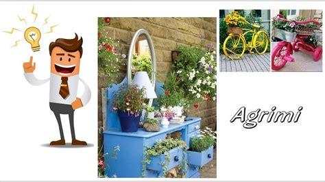 fioriere originali fai da te fioriere fai da te riciclo con riciclo creativo con i