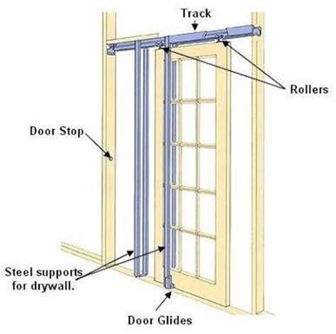 Install Interior Sliding Door by Best 25 Pocket Doors Ideas On Glass Pocket