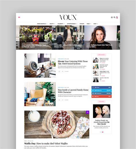 Best Wordpress Magazine Themes For Blog And News Websites Best Magazine Website Templates