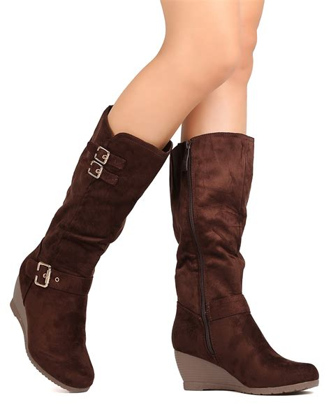 new dbdk monicay 2 faux suede knee high toe