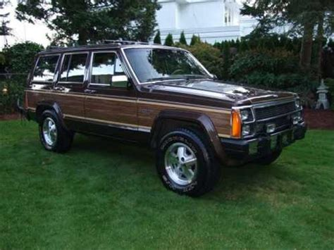 1988 Jeep Grand Wagoneer For Sale 1988 Jeep Wagoneer Information And Photos Momentcar