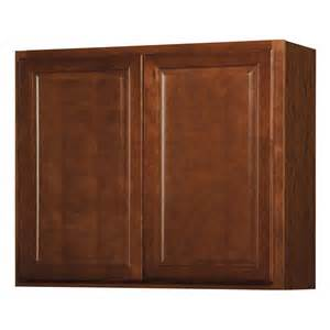 lowes kitchen wall cabinets shop kitchen classics 30 in x 36 in x 12 in cheyenne saddle door kitchen wall cabinet at