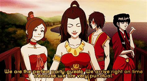 Socially Awkward Azula (Probably the Best Episode Ever ... Zuko And Mai Gif