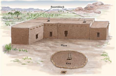 pueblo ii houses pueblo indian history for