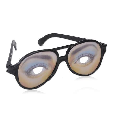 unisex glasses novelty prank eye joke