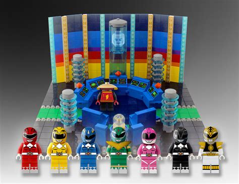 Luxury Home Stuff by Lego Power Rangers Concept The Awesomer