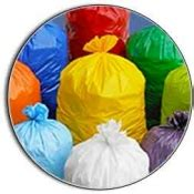 colored trash bags disposable trash garbage bags direct disposables