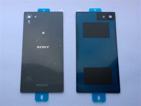 Back Cover Tutup Batre Sony Xperia Z5 Compact Z5 Mini replacement back cover glass for sony xperia z5 compact e5803 e5823 grey ebay