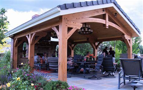 timber frame pergolas brewster timber frame company bellvue