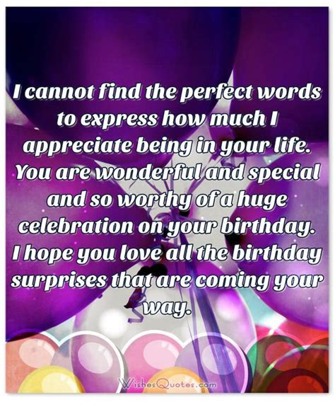 birthday special life story deepest birthday wishes for someone special in your life