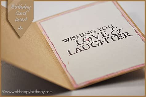 birthday card inserts templates birthday card inserts