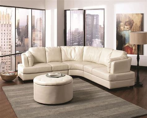 Coaster Contemporary Leather Sectional Sofa Landen Co 5031 Ss Coaster Sectional Sofa