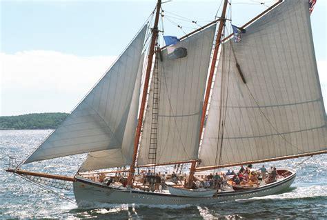 wooden scow for sale 1930 custom gloucester fishing schooner sail boat for sale