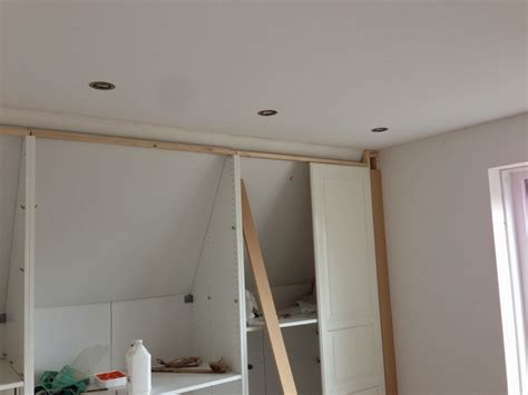 slope ceiling pax built in for sloping ceiling ikea hackers ikea hackers