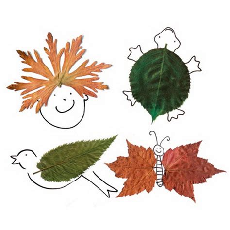 leaf craft for fall decor crafts easy fall leaf projects family