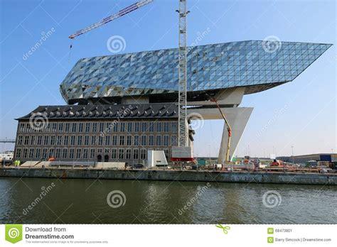 anversa porto nuovi uffici porto nel porto di anversa nel belgio