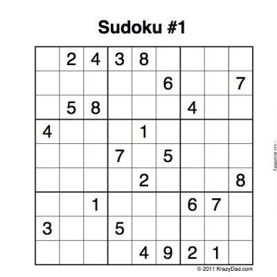 printable sudoku puzzles sudoku printable