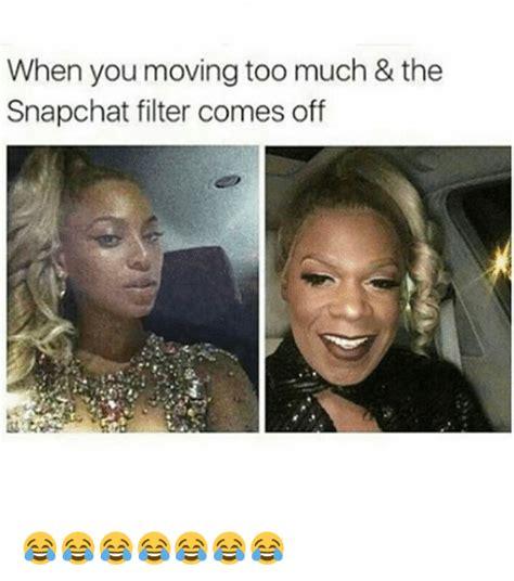 moving    snapchat filter