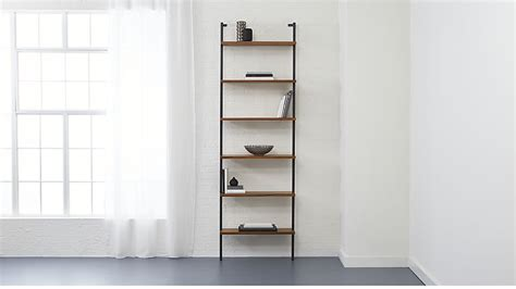 helix large wall mounted bookcase cb2