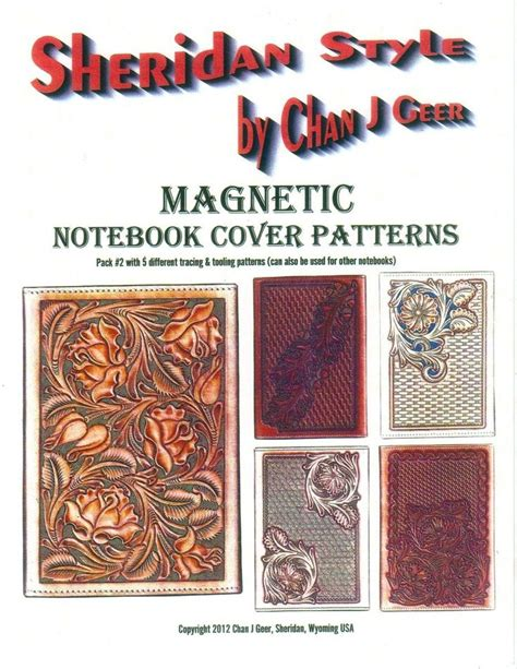 notebook pattern download 111 best images about leather books about on pinterest