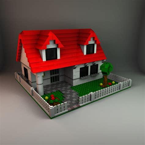 wood lego house lego house by christinewilde 3docean