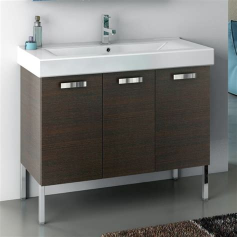 40 inch vanity cabinet with fitted sink contemporary