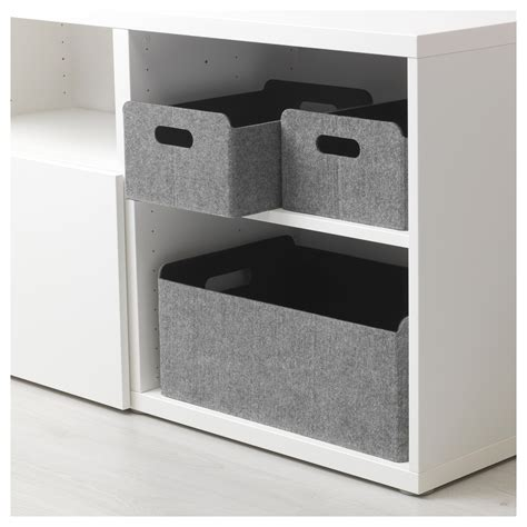 ikea besta grey best 197 box grey 25x31x15 cm ikea