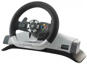 Steering Wheel And Gear Stick For Xbox 360 Xbox 360 Original Lenkrad Racing Steering Wheel Mit