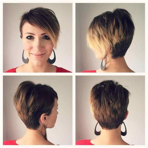 haircut pixie on top long in back hairstyles stacked pixie haircuts back view bob haircut