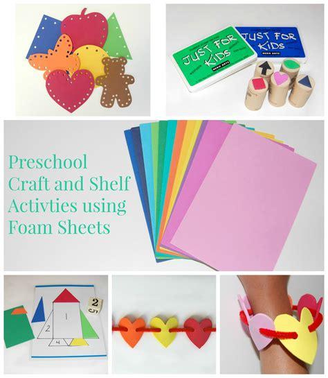 foam sheet craft projects foam craft sheets ms s preschool