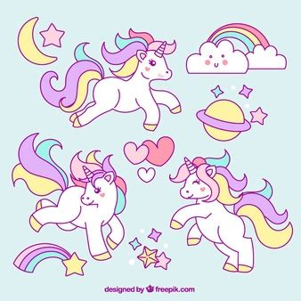 imagenes de unicornios para niñas unicornio fotos y vectores gratis