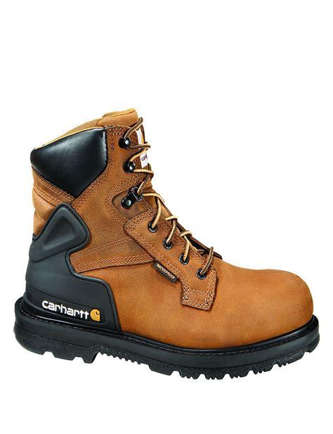 carhartt steel toe work boots carhartt 174 6 quot work steel toe work boots stage stores