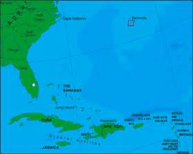 bermuda on map of united states bermuda map and bermuda satellite images