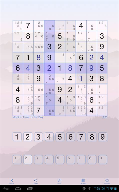 printable sudoku with pencil marks sudoku of the day android apps on google play
