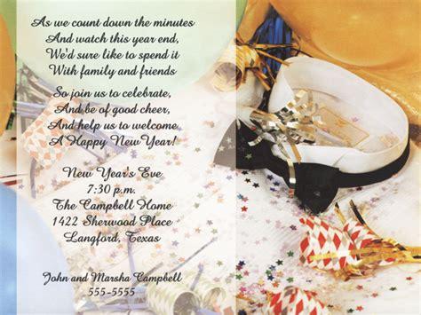 new years invite wording new years wedding invitation