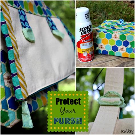 Scotchgard Upholstery How To Apply Fabric Protector To Your Handmade Bags Amp Purses
