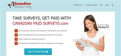 Legitimate Paid Surveys - canadianpaidsurveys gets a makeover canadian paid surveys