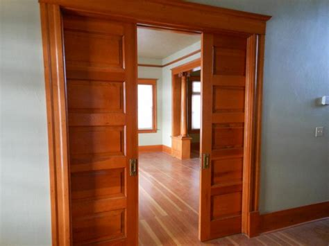The Pocket Door Materials For Design Sliding Pocket Doors Interior