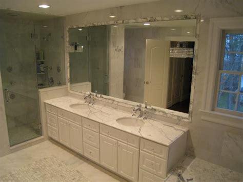 Carerra Marble Bathroom by Marble Transitional Bathroom