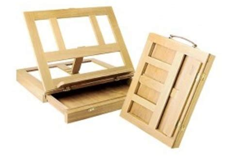 Table Easel With Drawer by Mont Marte Table Easel W Drawer Pine