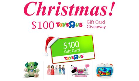 Free Toys R Us Gift Card - 100 toys r us gift card christmas us